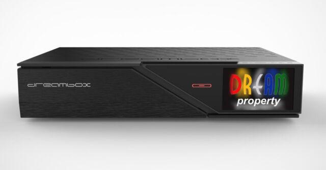 Dreambox Dm920 UHD 4k 1 X Dvb-s2 FBC Dual Tuner E2 Linux PVR Receiver
