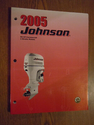 2005 johnson 2 stroke 55 hp outboard motor shop service