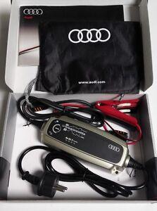 Audi-Batterieladegeraet-Batterieerhaltungsgeraet-fuer-Auto-und-Motorrad