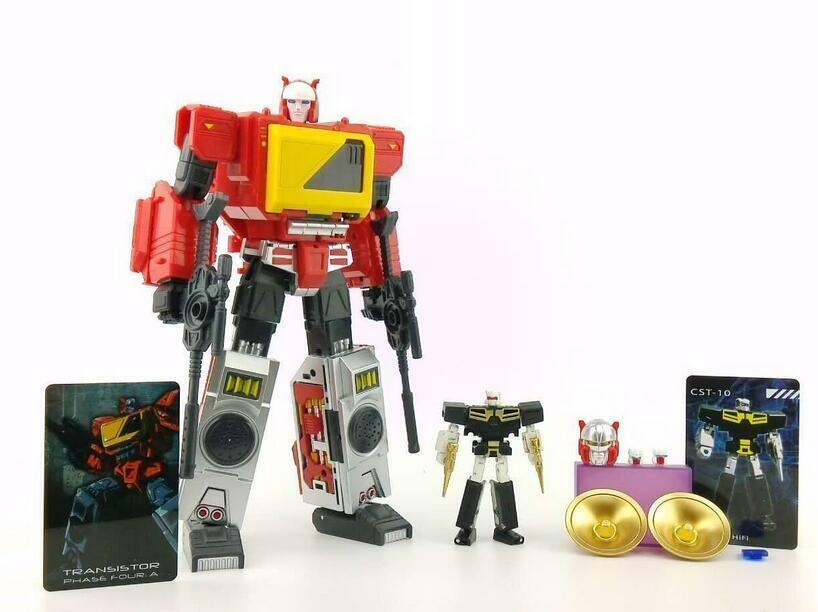 Transformers KFC TOYS TRANSFORMER Masterpiece MP Blaster Transistor RED REISSUE