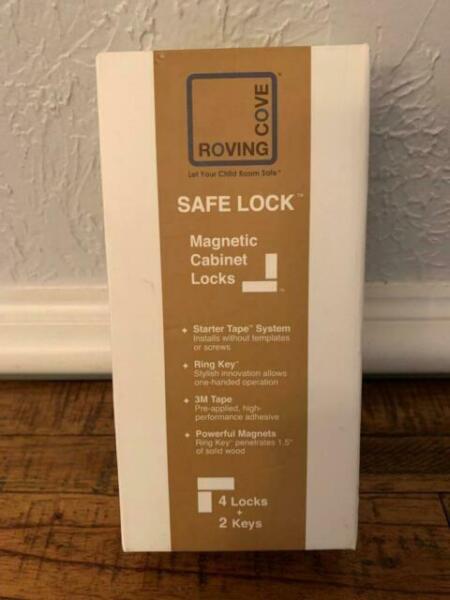 4 Locks Ivory Safety 1st Magnetic Locking Syste