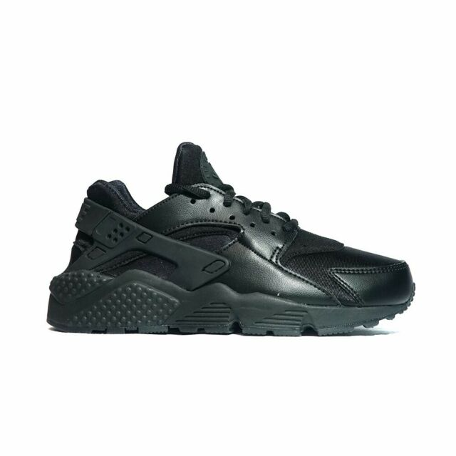 21d312a535c Nike Air Huarache Run Sz 8 Triple Black 634835 012 for sale online ...