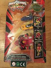 Power Fury Set Jungle Micro Animal Rangers Bandai 30041 A Zords QtsdChr