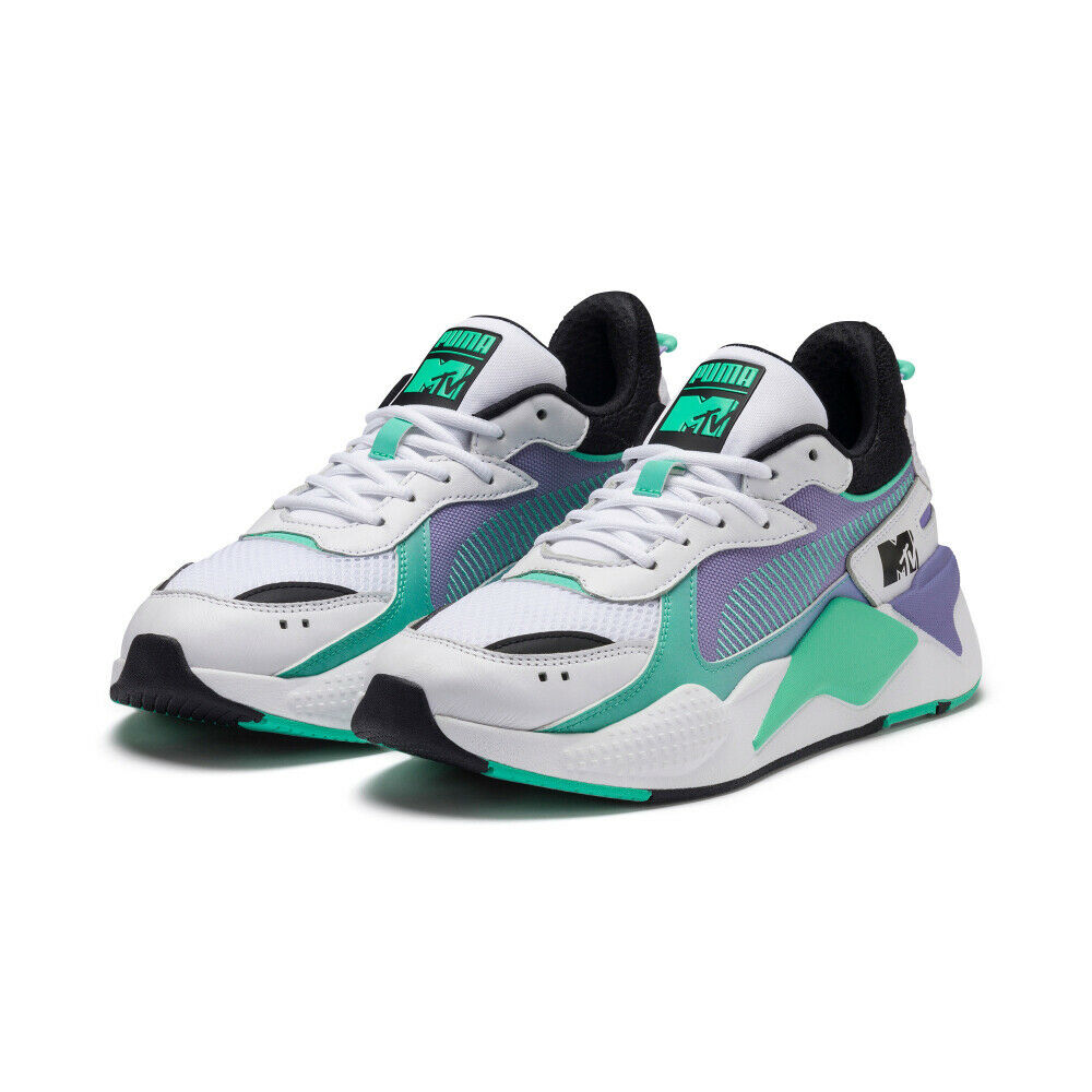 PUMA RS-X Tracks MTV Gradient Blaze shoes Sneakers White 370407-01 37040701