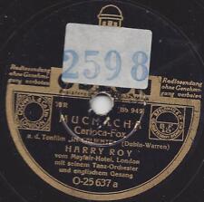 Harry Roy Orchester v. Mayfair-Hotel London auf Deutscher Vorkriegs Odeon RAR