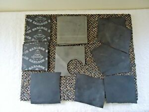 Mixed-Lot-Of-30-034-NOS-034-amp-Used-Garlock-Other-Square-Rubber-Gasket-Material