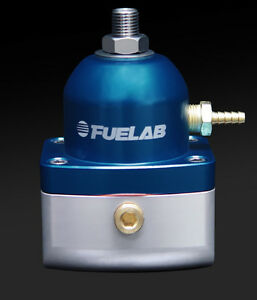 Fuel lab fuel pressure regulator 6an fpr 51502 3 blue ebay for What is fpr rating
