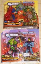He-Man VS Superman & Lex Luthor VS Skeletor Two-Packs