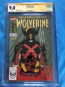 Wolverine-29-Marvel-CGC-SS-9-0-Signed-by-Barry-Kitson