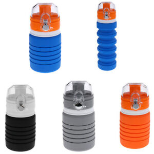 Details about Collapsible Cup Folding Water Bottle Portable 500ml Camping  Sports Hydration