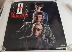 Love-and-Rockets-Express-Poster-1986-Original-Vintage-Eighties-Poster