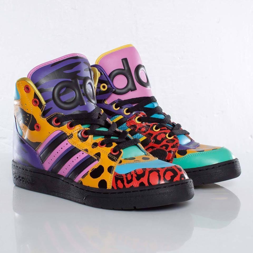 Adidas Adidas Adidas Jeremy Scott JS Instinct HIGH, wings, panda, bear New, Authentic ! 8cf0ef
