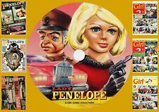 Lady Penelope 1-125 + More + Girl Comics UK On DVD Rom