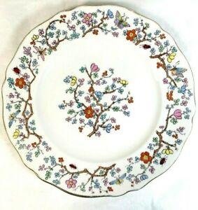 Spode-Shanghai-Plate-Bread-Butter-Side-6-1-4-034-England-R5321-Scalloped-Gold-Trim