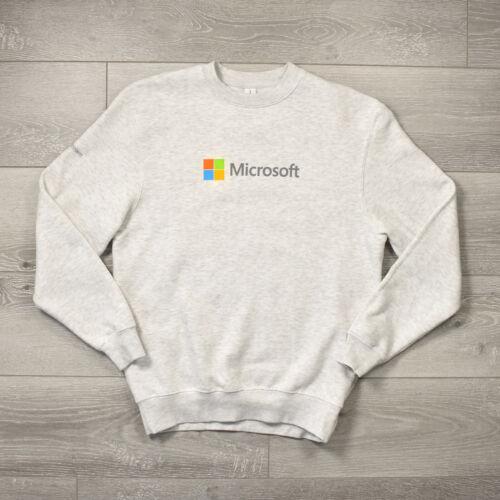 Microsoft Intern Sweatshirt - Small Medium Grey Wi
