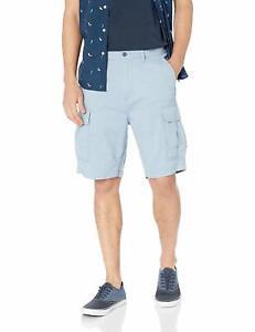 Levi-039-s-Men-039-s-Premium-Cotton-Multi-Pocket-Carrier-Cargo-Shorts-Blue-232510115