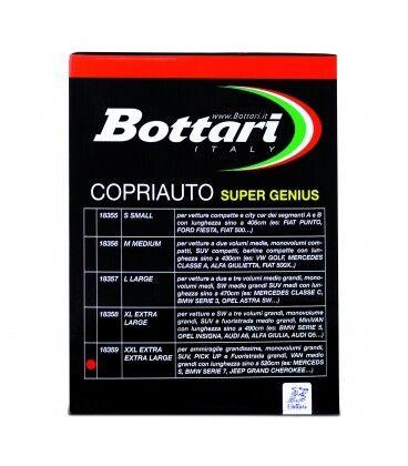 Alfa Romeo 75 Copriauto Esterno in PVC e TNT con Morbida Imbottitura in Cotone