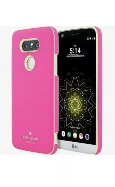 newest 7b825 fb4f7 Kate Spade NY Saffiano Leather Wrap Case for LG G5 Pink