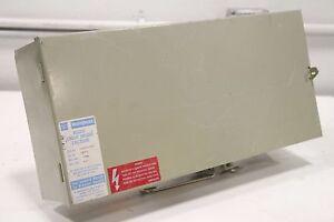Westinghouse-IBPFD-150Amp-600Vac-Circuit-Breaker-Enclosure-Bussway-Cutler-Hammer