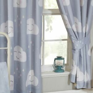 Hy Clouds Lined Curtains 66 X 72