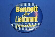 Political Campaign Alaska LIEUTENANT GOVERNOR BENNETT Pinback