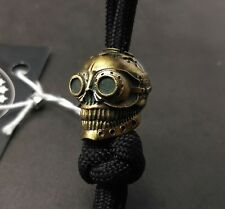"""Collectible Bead """"Ghost Rider"""" Knife Paracord Lanyard ,Handmade"""