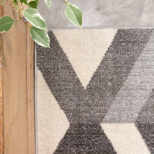 Grey Rugs for Living Room Best Selling Graphite Rugs UK Modern Kitchen Mat CHEAP