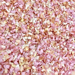 Peach-Rose-Melon-Biodegradable-Papier-Mariage-Confettis-Throwing-table-flutterfall