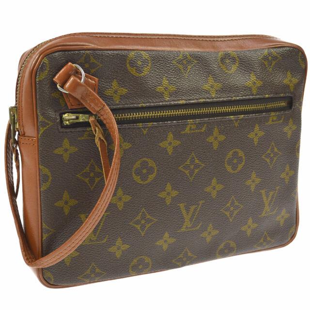 f1d028022 AUTH LOUIS VUITTON VINTAGE POCHETTE SPORT CLUTCH BAG MONOGRAM No.183 A43519