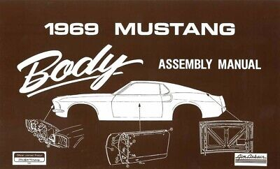1973 Ford Mustang Chassis Assembly Manual Book Rebuild Instructions Illustration