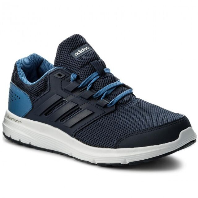 separation shoes 3ce26 e993f Adidas Men Running Shoes Galaxy 4 Training Cloudfoam Trainers New CP8828