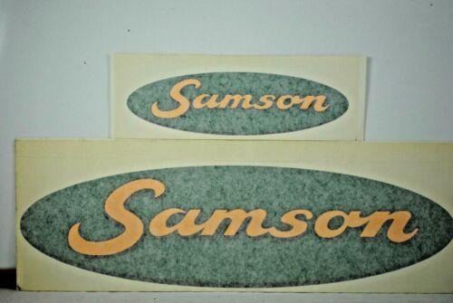 Original SAMSON Logo Decal Stickers for MANURE Spreaders /& VACUUM SLURRY Tankers