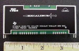 DC-DC-Converter-65-Watt-Triple-Output-48V-In-to-15V-3-3V-1-5V-Out