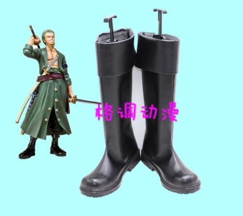 ONE PIECE Roronoa Zoro cosplay shoes boots Custom-Made AA.0892