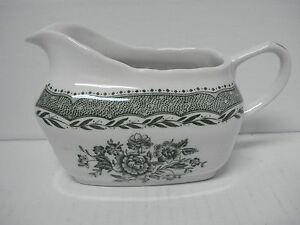 Grindley Green Gravy Boat