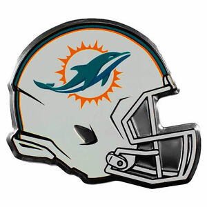 99636944 Details about NFL Licensed Miami Dolphins Helmet Premium Aluminum Decal  Sticker 4x3.5 NEW