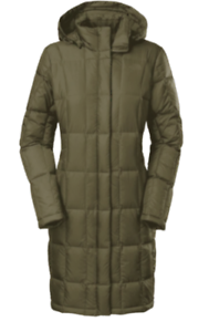 The-North-Face-Womens-Metropolis-Parka-550-Down-Forest-Night-Green-Size-Small