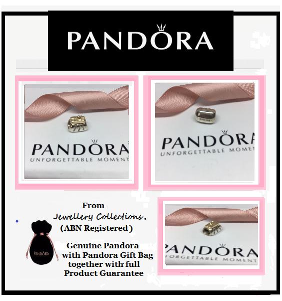 60705b3ab Genuine Pandora Two Tone Silver 14k Gold Clutch Purse Charm 790475 Retired