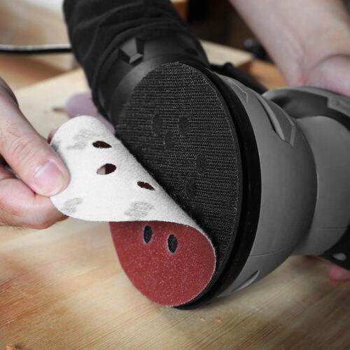 "10Pcs Sanding Discs Sheet Sander Pads Sandpaper 5/"" Hook And Loop 60-2000 Grit"