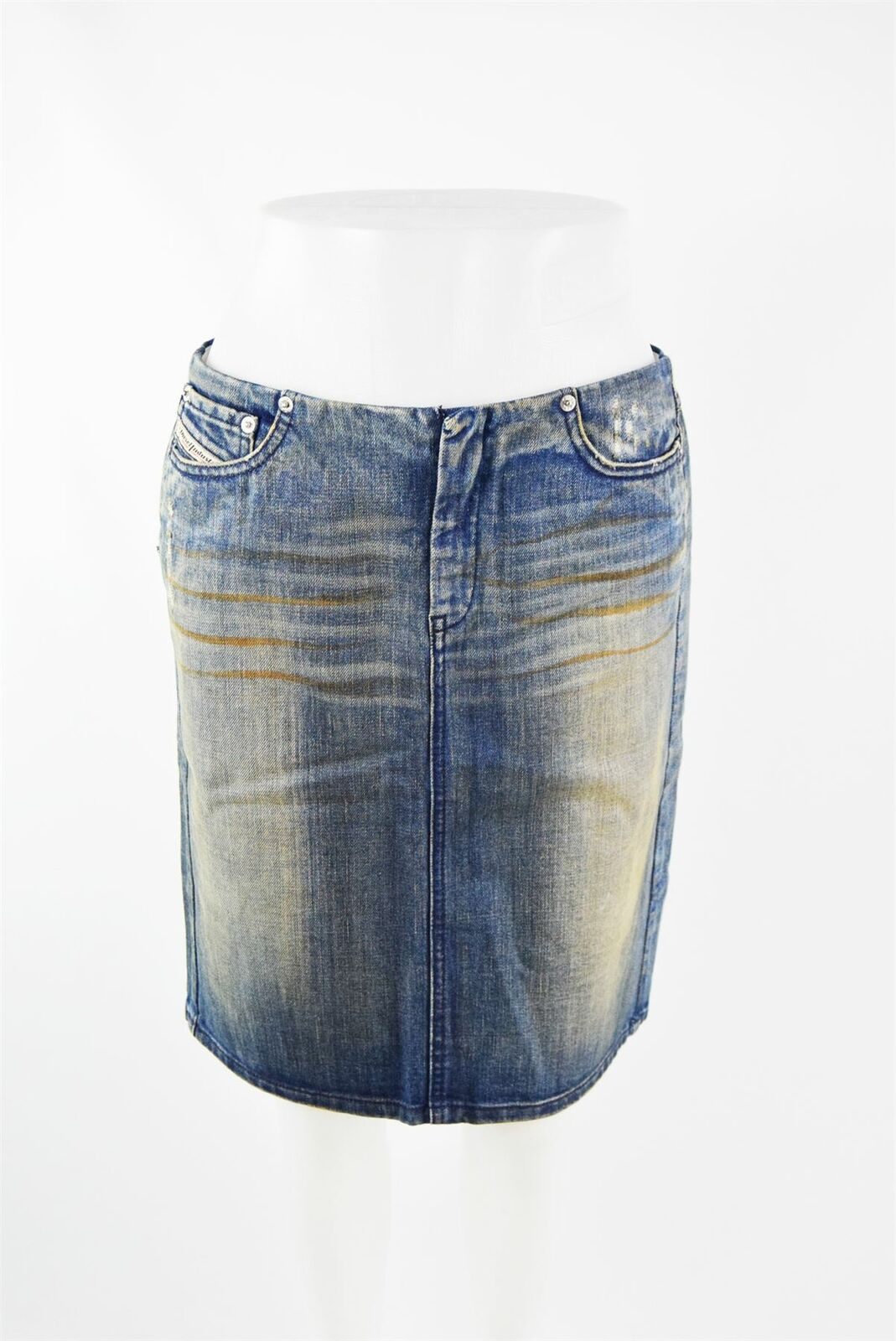 DIESEL bluee 100% Cotton Denim Skirt, US 6