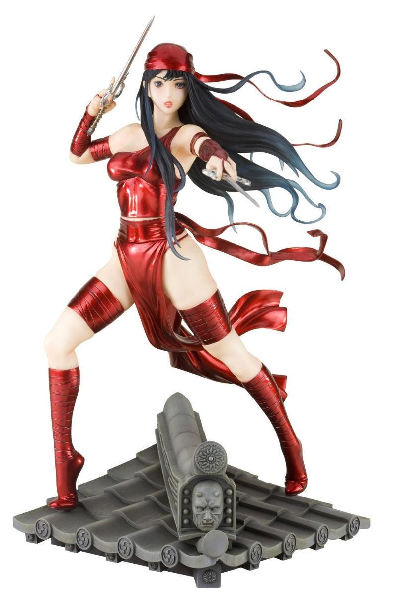 Marvel Bishoujo Darossoevil  Elektra 1 7 Scala PVC Statuetta Kotobukiya Nuovo da  outlet online economico