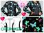 NEW Botanic Flutters Cherokee Scrubs Zip Front Knit Panel Jacket CK307 BOFT //ALL