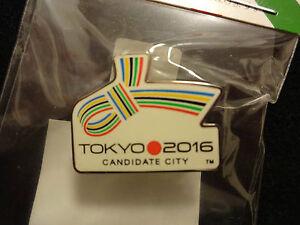 2016-RIO-OLYMPIC-PIN-BADGE-CANDIDATE-CITY-TOKYO-JAPAN-BID-PINS
