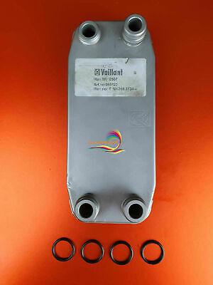 VAILLANT Turbomax Pro 28 e VUW 282//2-3 R1 R2 R3 scambiatore di calore 065123 ORIGINALE
