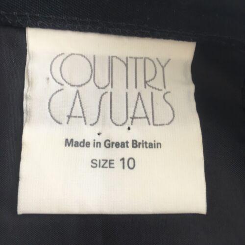 misto Gonna nera in Casual lana foderato a 10 Country Uk tubino 05wxXIPIq