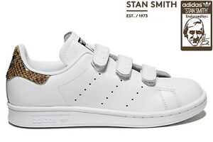 Détails sur Adidas originals stan smith serpent bracelet femme baskets  blanc uk taille 7 - 9.5- afficher le titre d'origine
