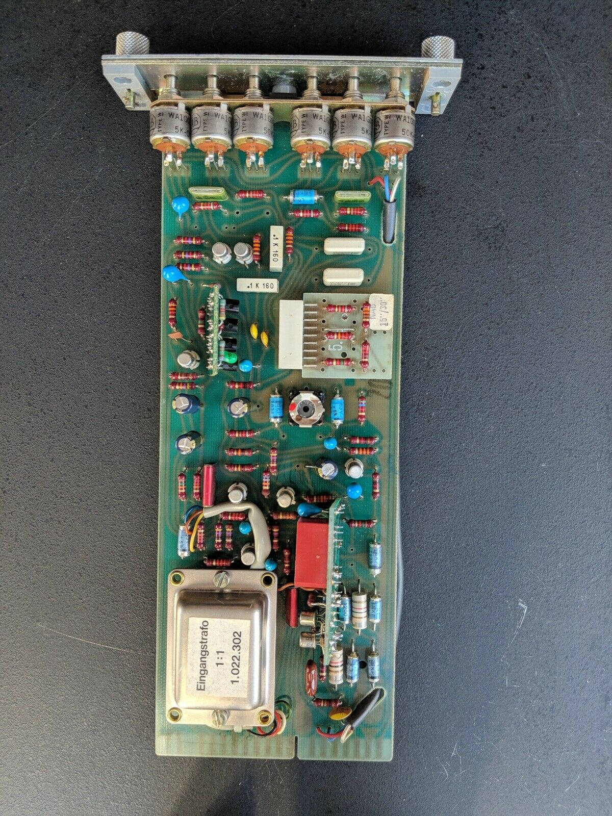 Re-Capped Studer 1.080.982-12 Audio Record Card w  15 30IPS EQ for A80RC
