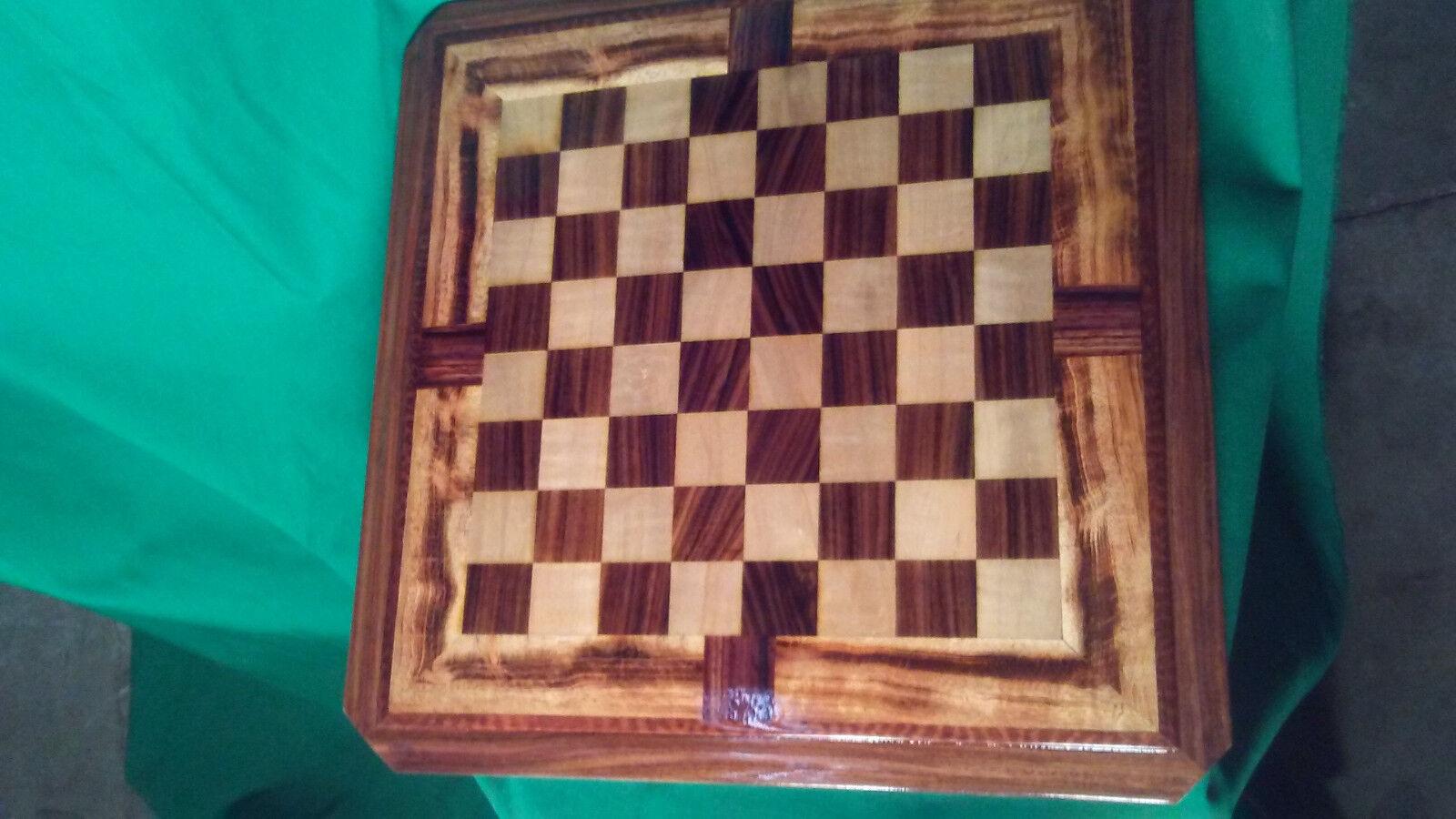 Tamaño de la Mesa de madera Personalizado tablero de ajedrez