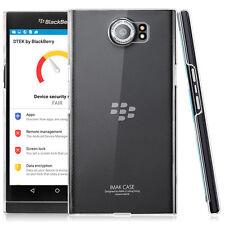 imak Slim Crystal Shell Clear PC Hard Back Cover Skin Case For Blackberry Priv