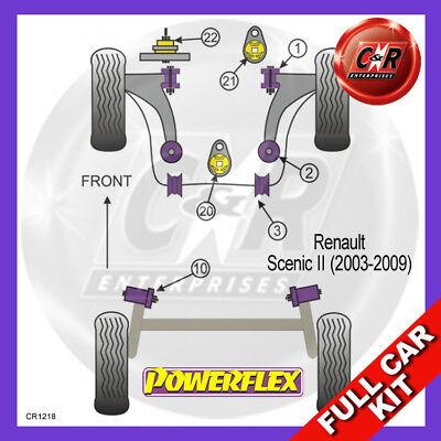Acquista A Buon Mercato Scenic 1.5 D 03-09 Eng Cespugli, Frarm Rrbushes Nolift & Caster Powerflex Kit Completo-mostra Il Titolo Originale